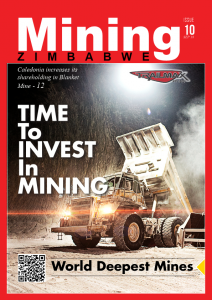 Mining Zimbabwe Magazine september 2018