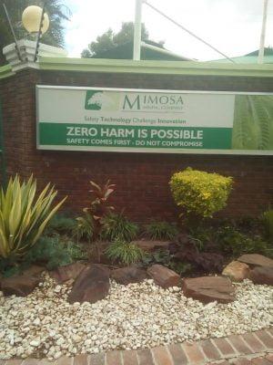Mimosa Mining Zimbabwe