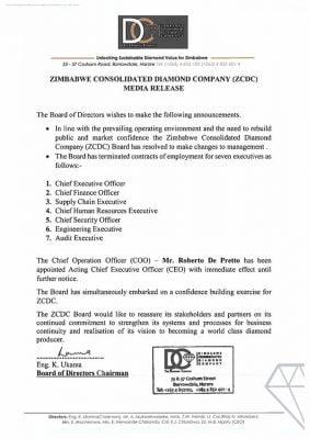 ZCDC fires seven executives