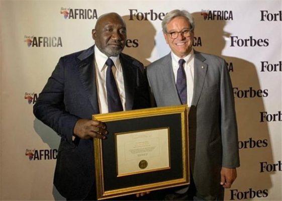 Zimbabwe awards platinum concession to firm linked to Nigerian billionaire