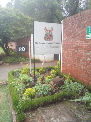 Chamber of mines of Zimbabwe