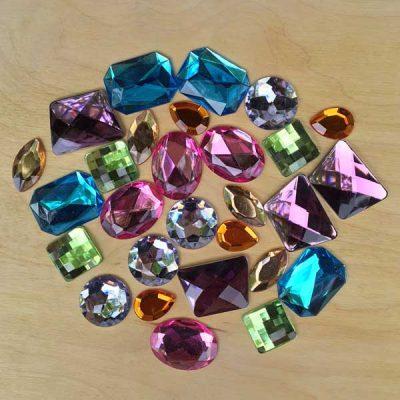 Glitter stones