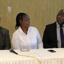 Henrietta Rushwaya and Fraderick Kunaka director