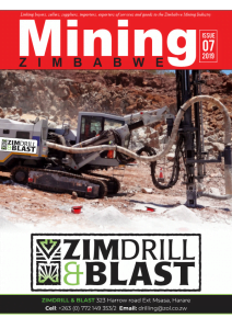 Mining Zimbabwe July/ Mine Entra issue