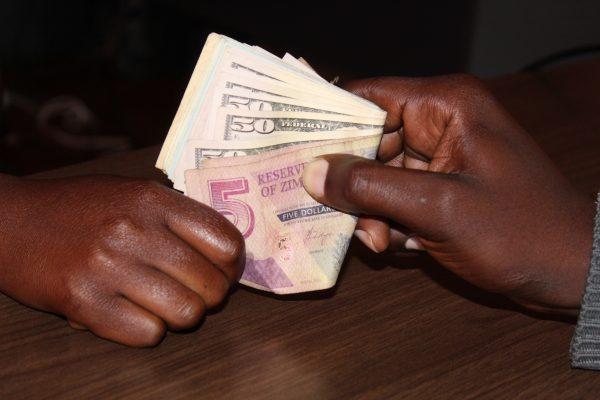 Corruption money changing hands