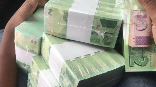 Stacks of Bond new notes