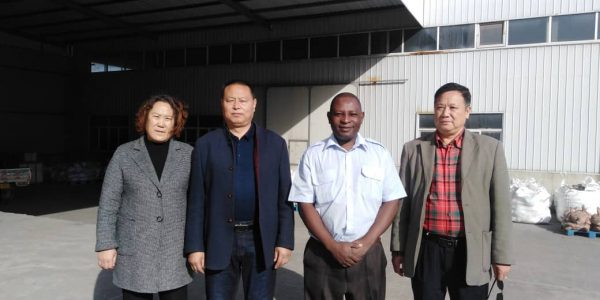 Meeting with Chinese community