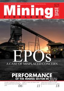Mining Zimbabwe Magazine DECEMBER 2019