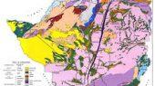Zimbabwe geological map