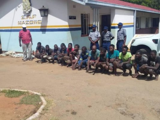 illegal miners arrested