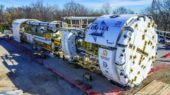 Robbins Main Beam Tunnel Boring Machine