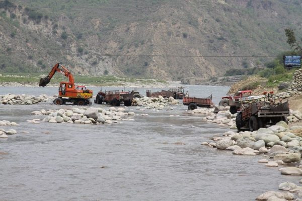 riverbed mining