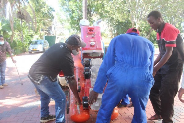 MPDM praises Rushwaya for mining equipment donations