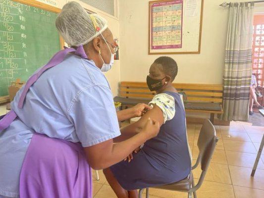 Rushwaya get vaccinated against Covid 19